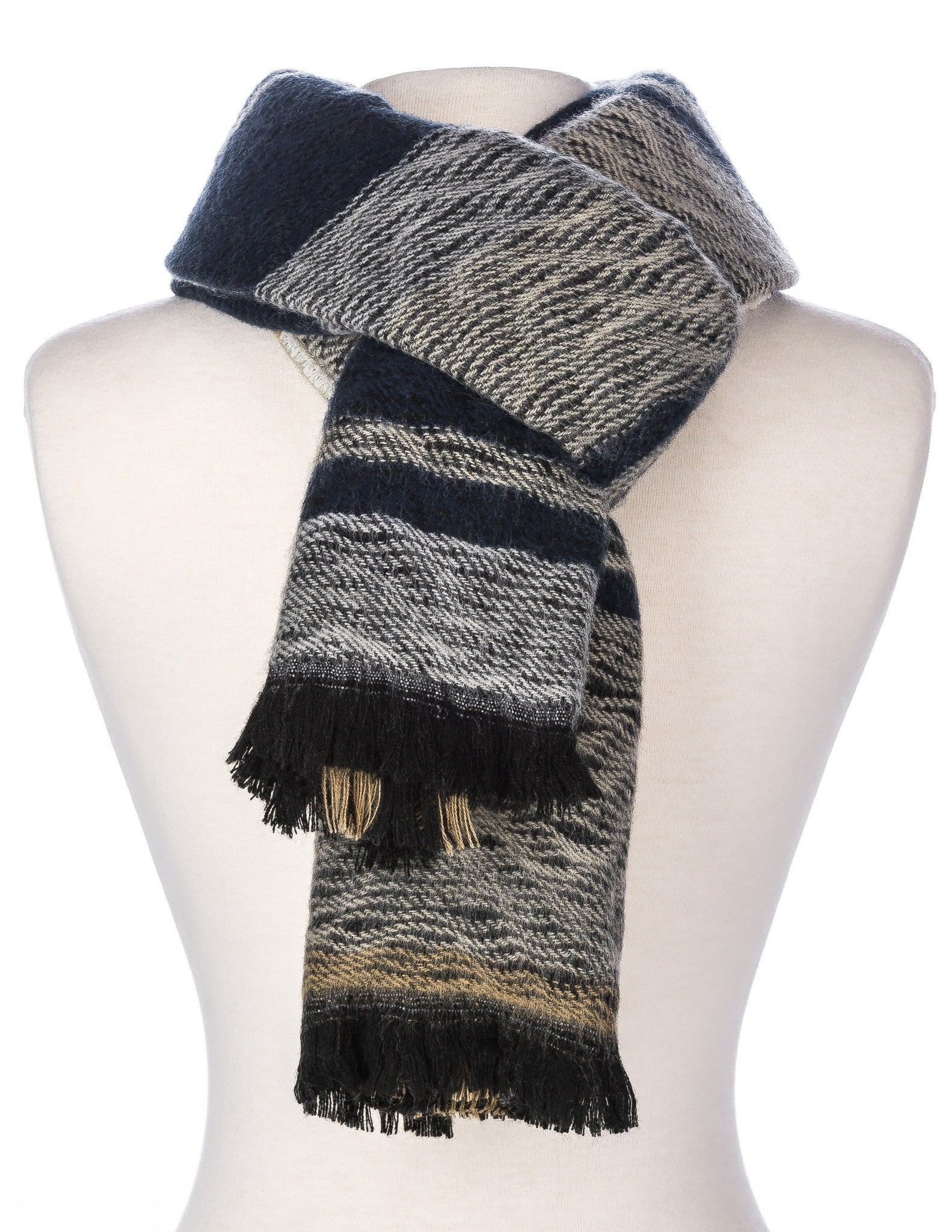Men's Preston Plaid Reversible Winter Scarf