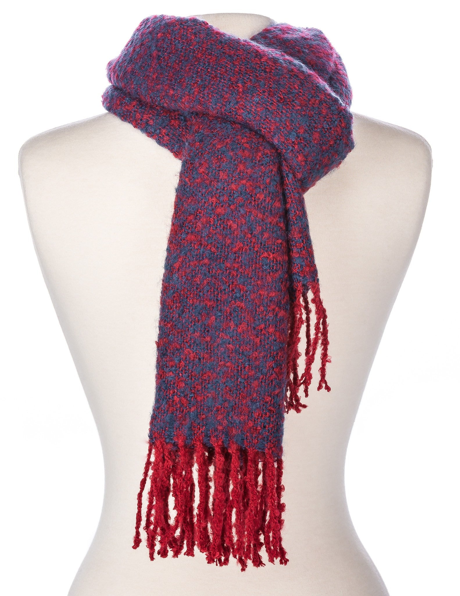 Men's Newport Two-Tone Winter Scarf