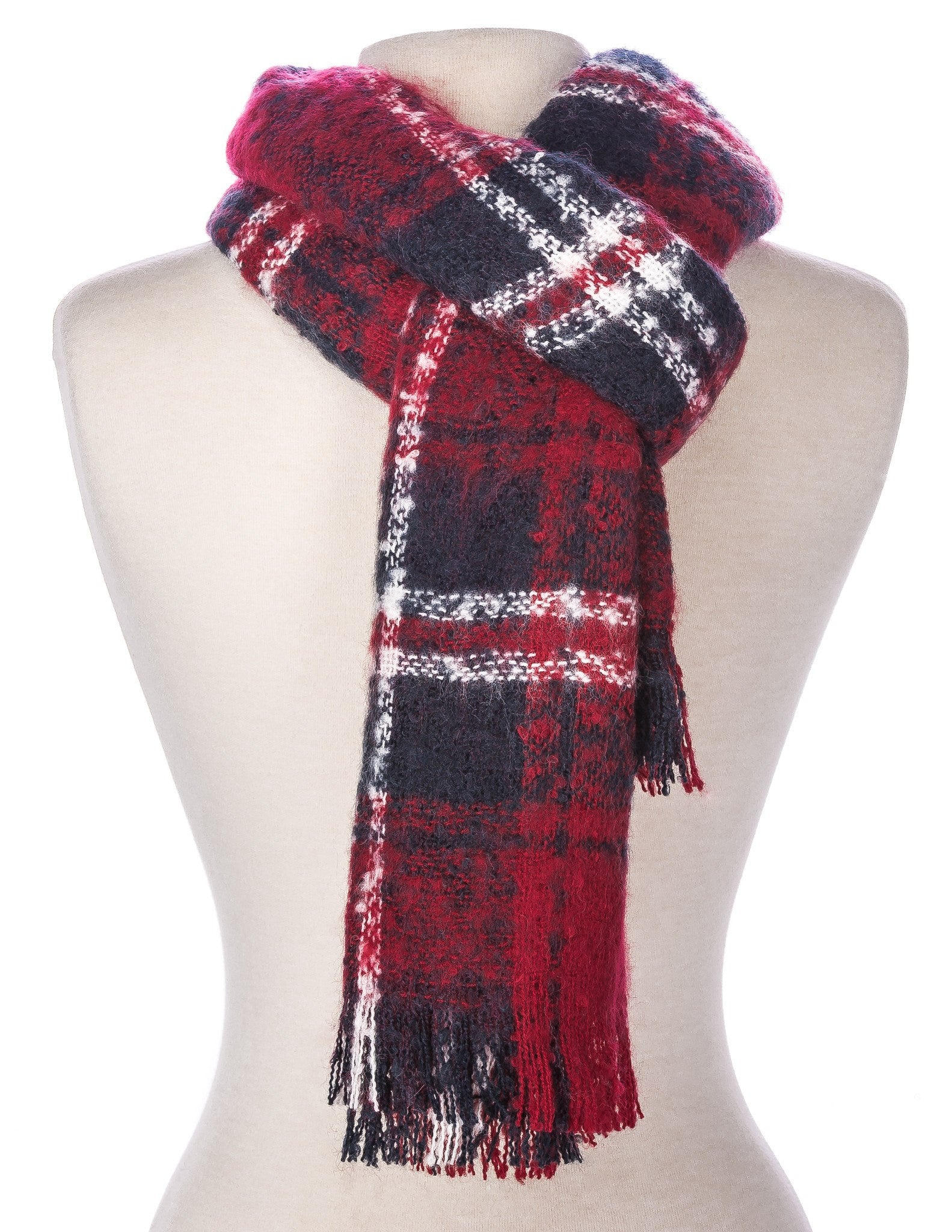 Men's Westminster Plaid Winter Scarf