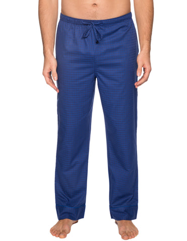 Men's 100% Cotton Comfort-Fit Sleep/Lounge Pants