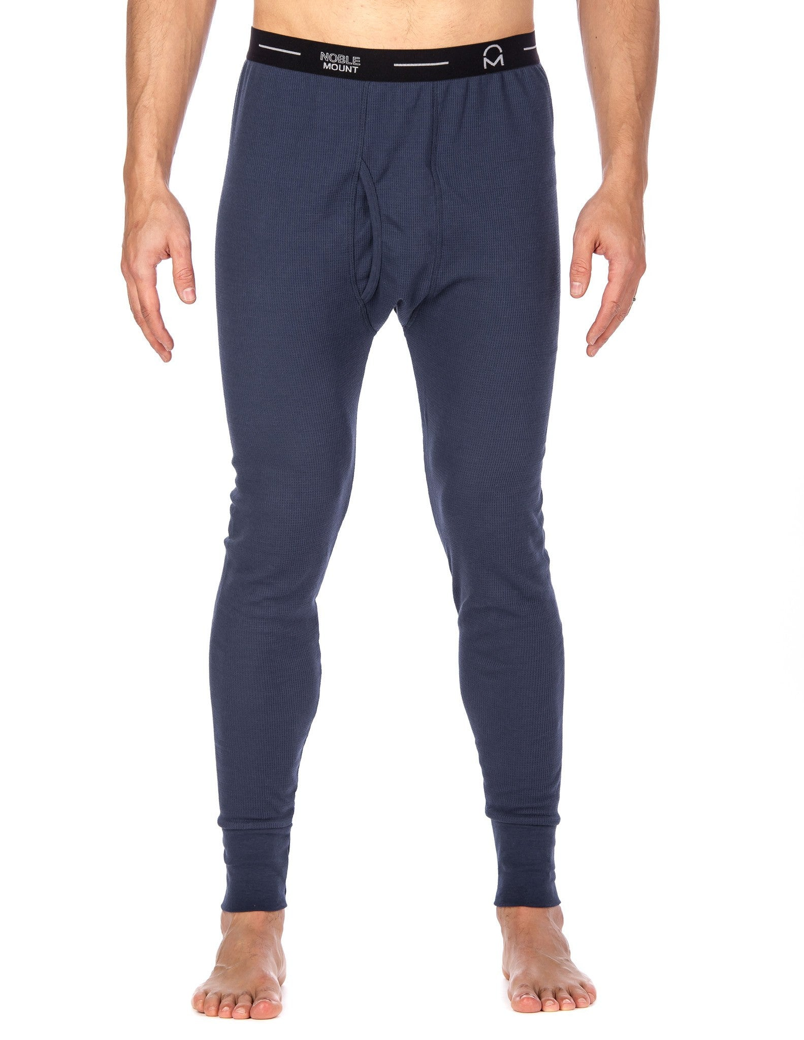 Men's Extreme Cold Waffle Knit Thermal Long John Pants