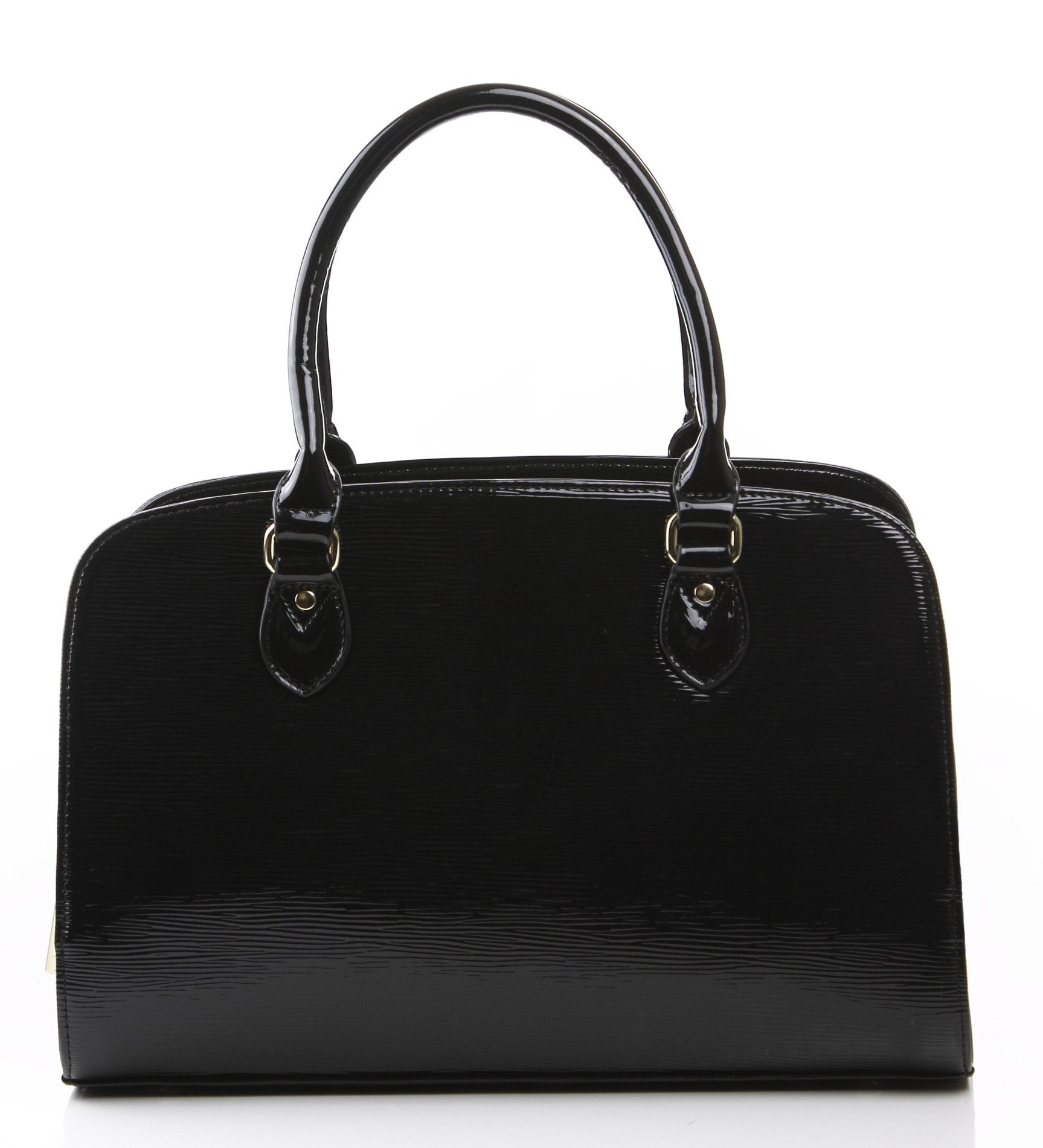 Hi Gloss Constance Satchel Bag