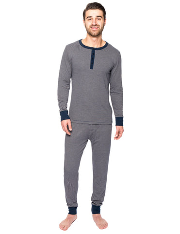 Men's Double Layer Thermal Sleep Set