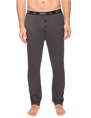 Men's Double Layer Thermal Fitted Lounge Pant