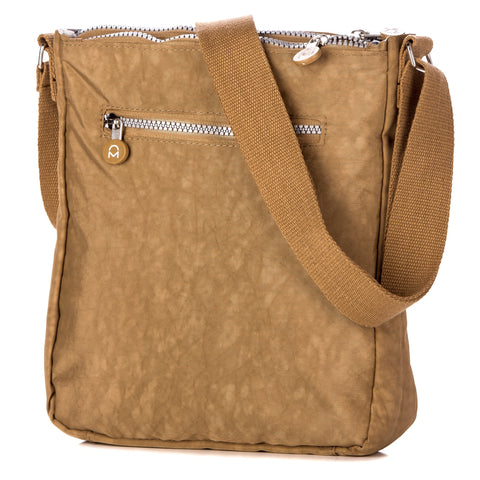 Crinkle Nylon 'Explorer' Crossbody Handbag