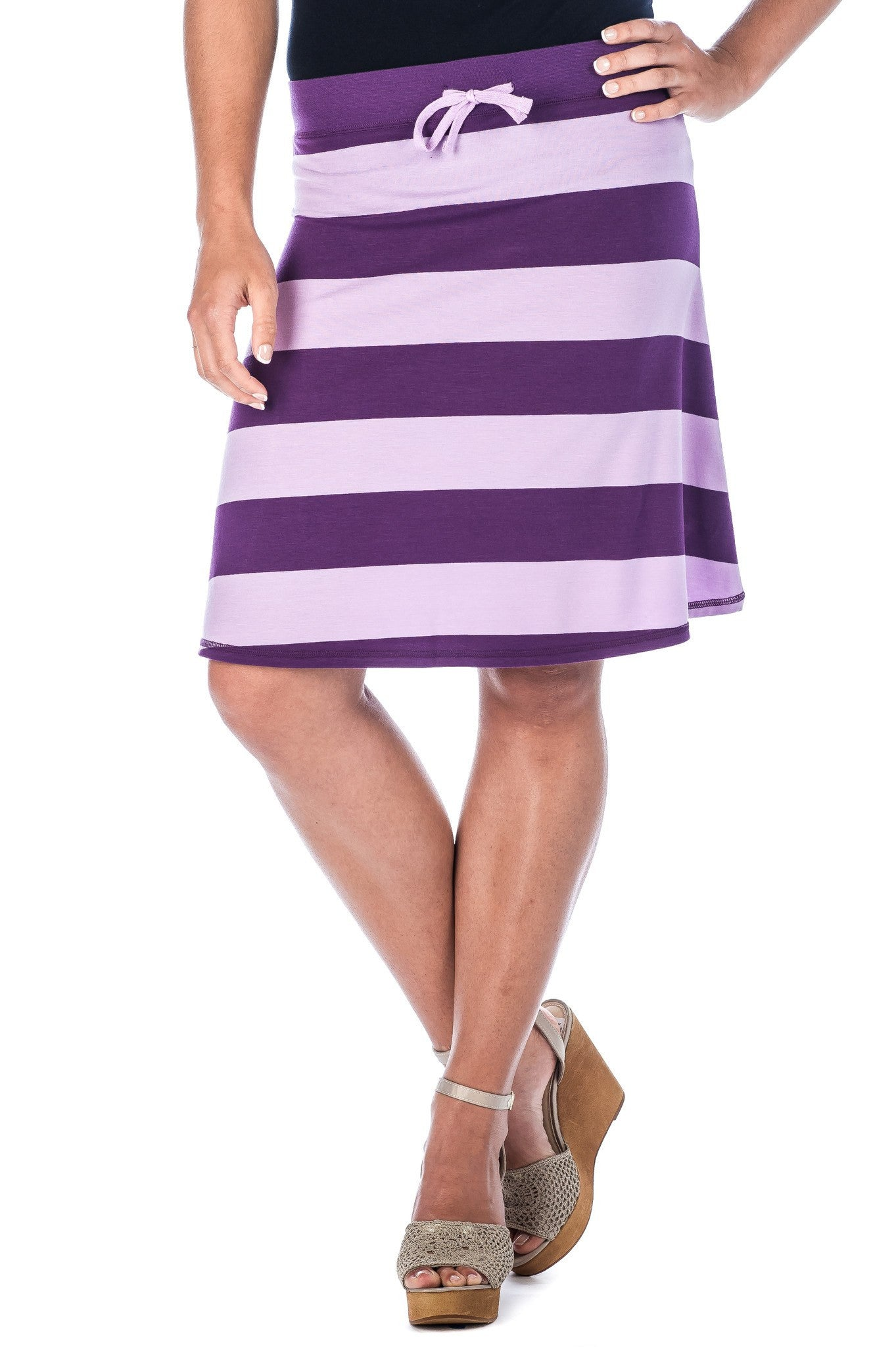 Women's Cool Knit Knee Length Skirt