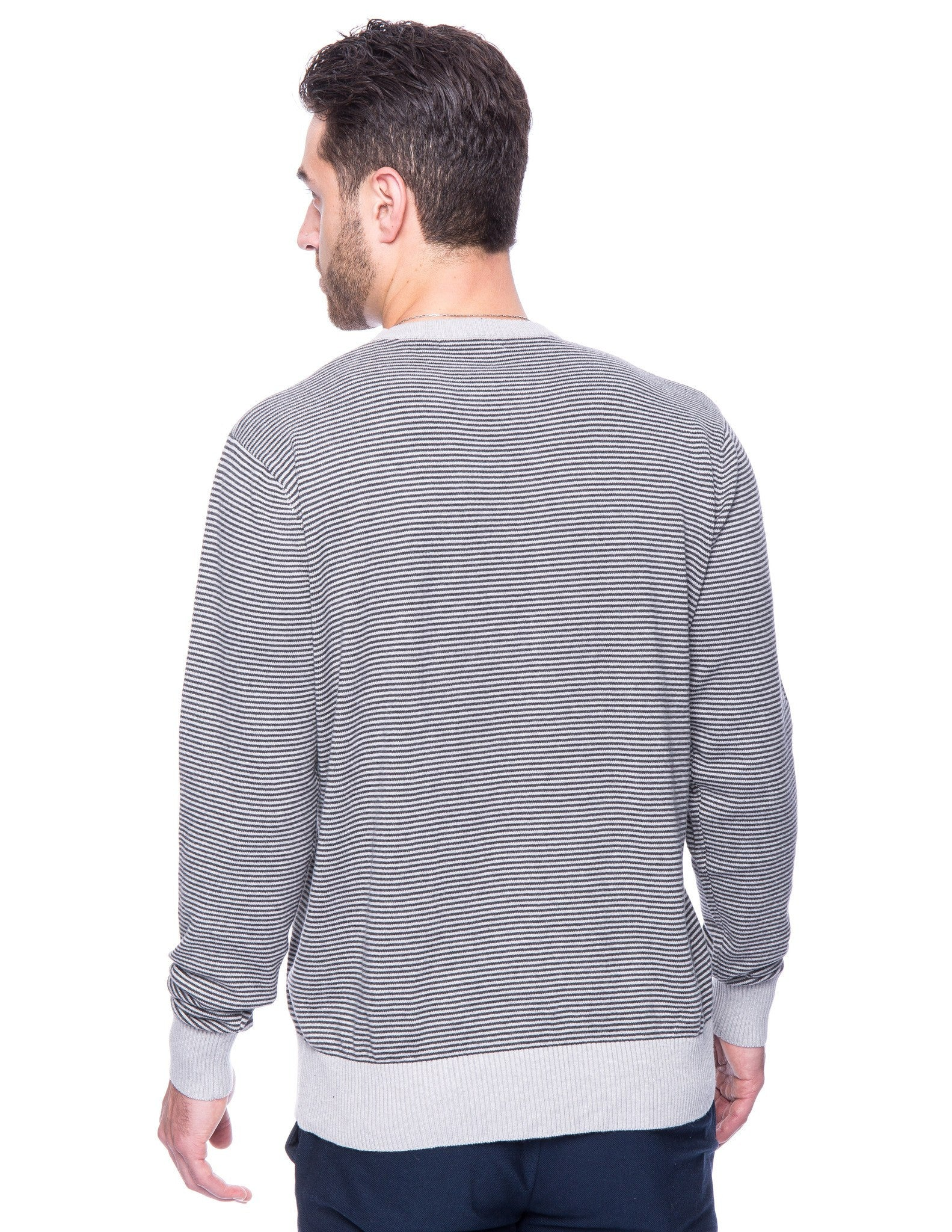 Stripes Heather Grey/Charcoal