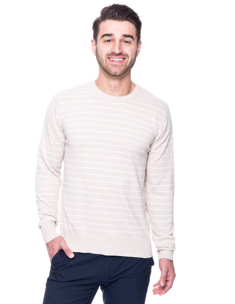 Box-Packaged Tocco Reale Men's 100% Cotton Crew Neck Sweater