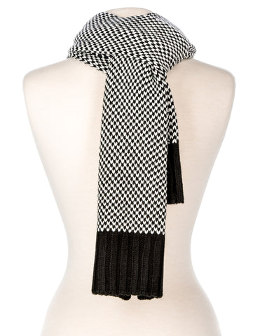 Men's Two-Tone Manhattan Winter Scarf
