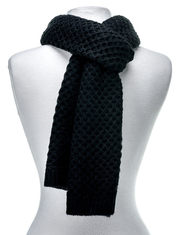 Premium Mens Scarf - Mufflers for Men - Weave Pattern Scarf