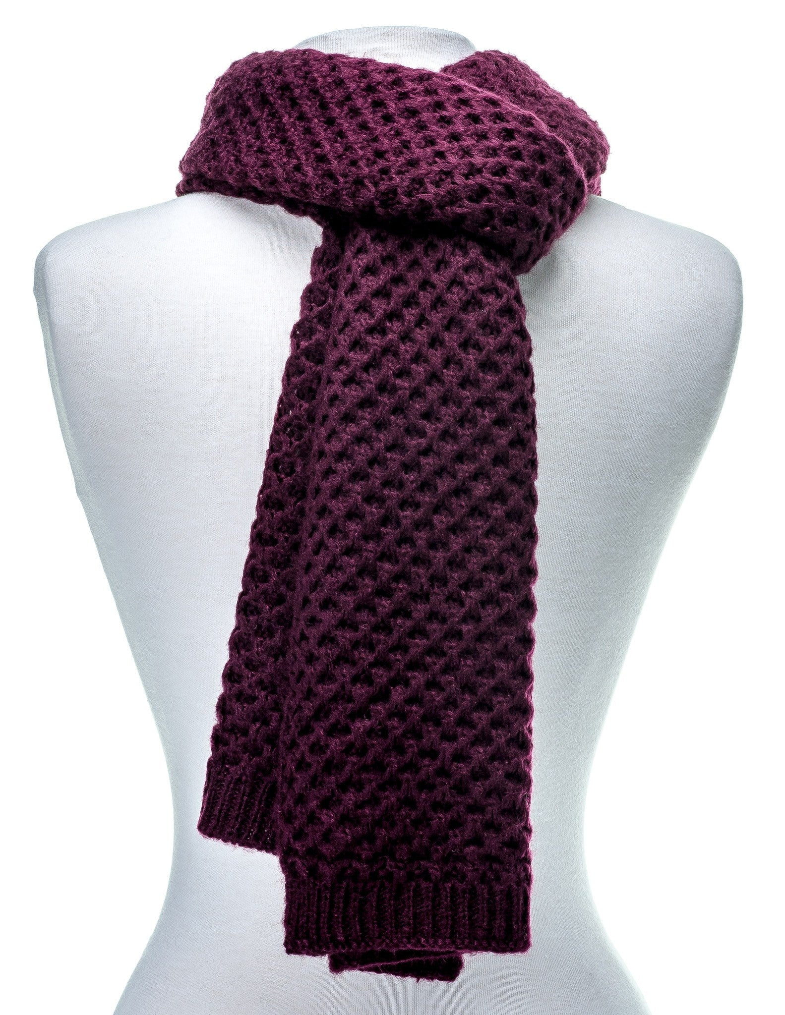 Premium Mens Scarf Mufflers For Men Weave Pattern Scarf Noble Mount