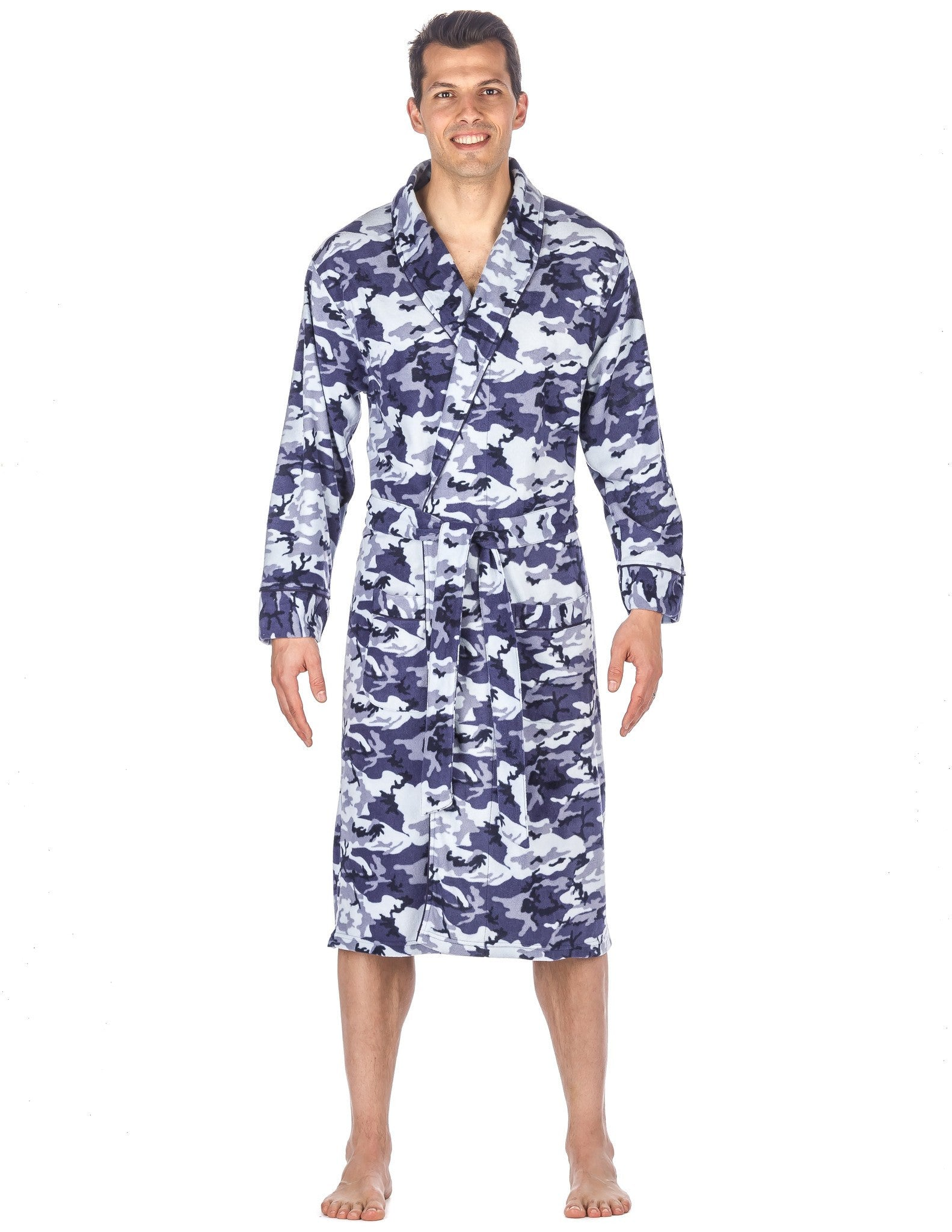 Men's Microfleece Robe