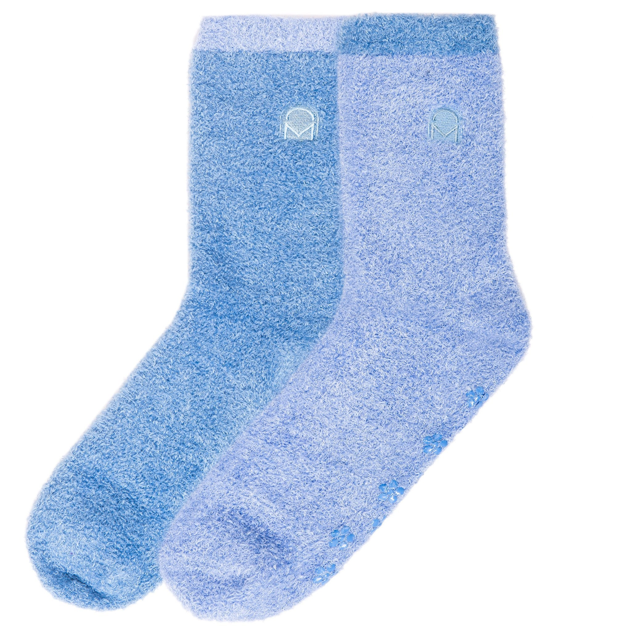 Women's Soft Anti-Skid Winter Feather Socks - 2-Pairs