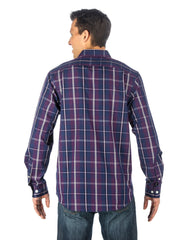 Plaid Plum/Blue