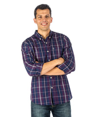 Men's 100% Cotton Casual Shirt - Regular Fit