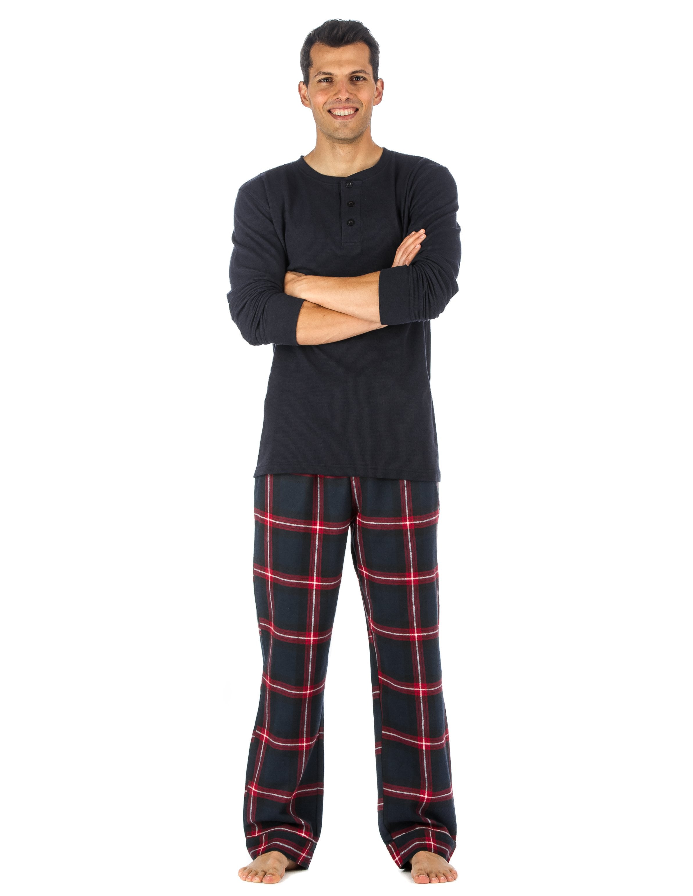 Black-Red Plaid