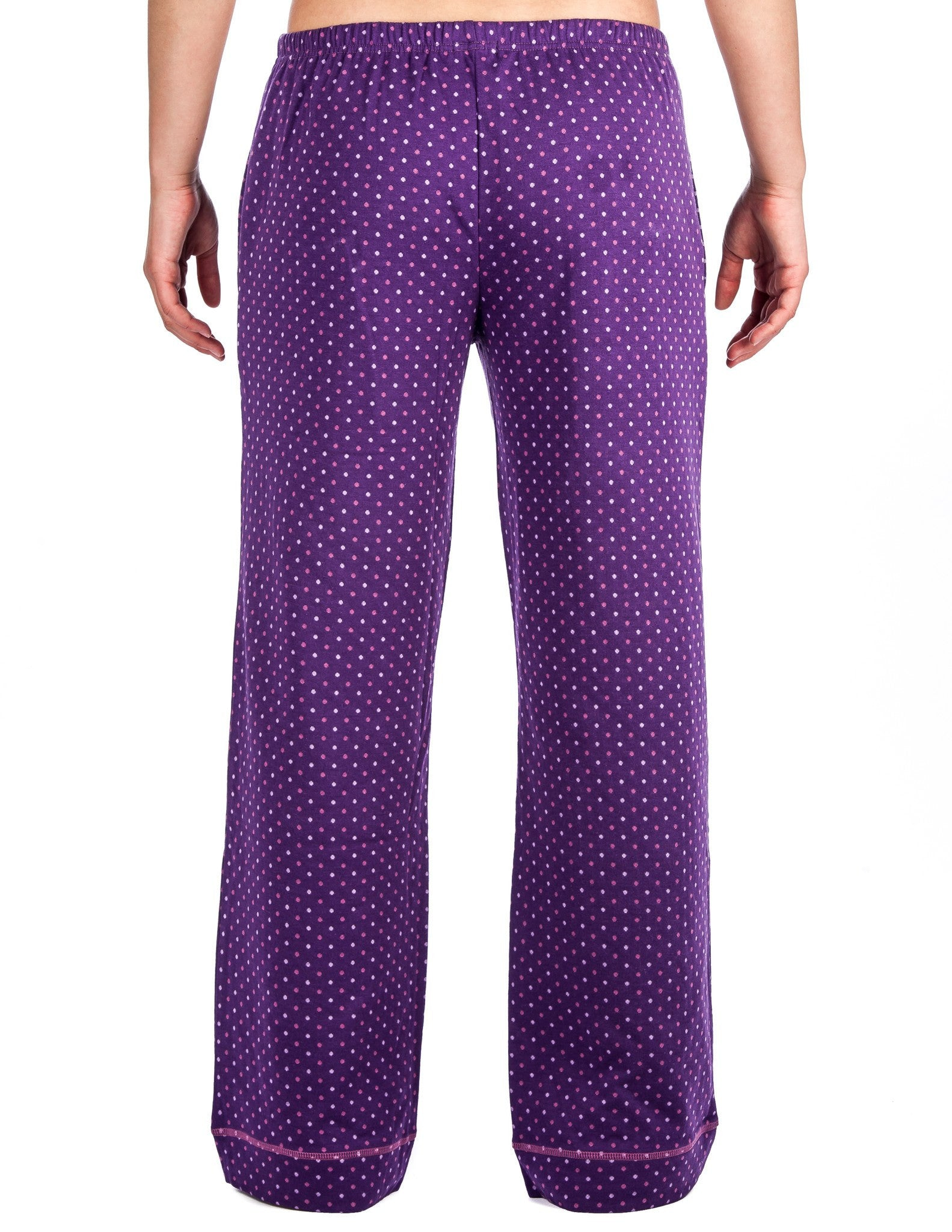 Polka Dots - Purple (Relaxed Fit)
