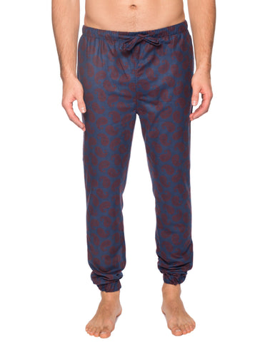 Men's 100% Cotton Flannel Jogger Lounge Pant