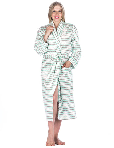 Women's Double Layer Knit Jersey Robe