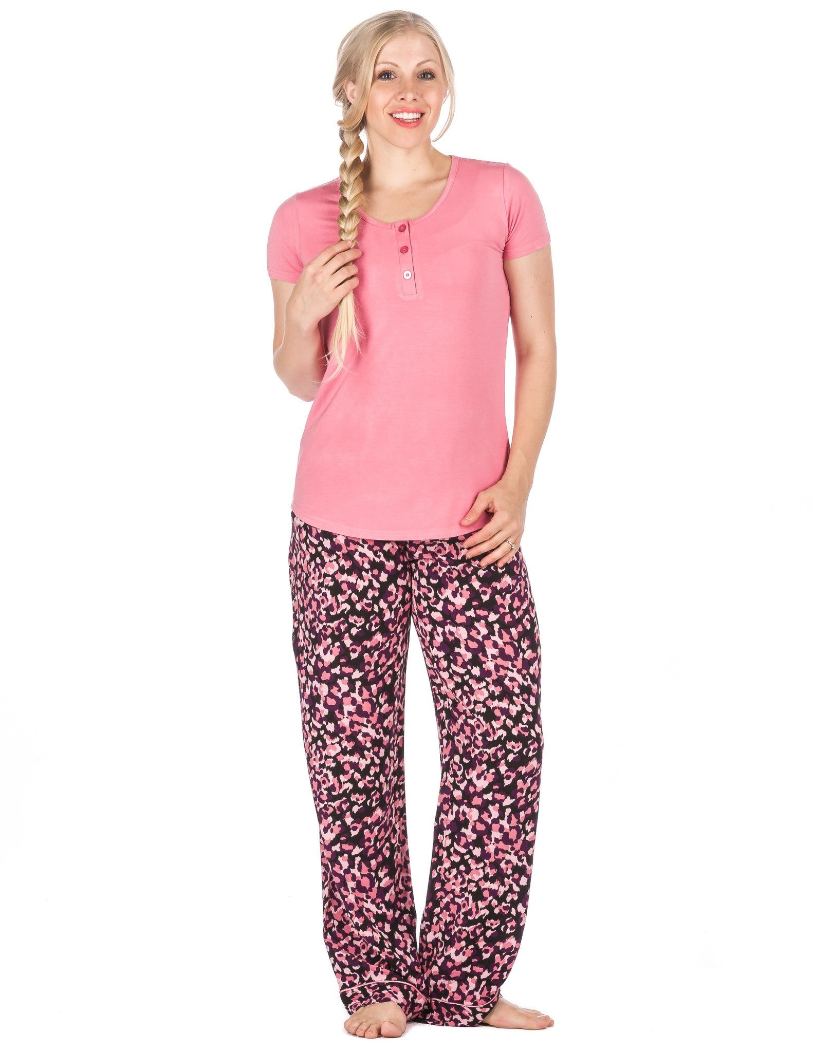 Women's Cool Breeze Woven Lounge Set