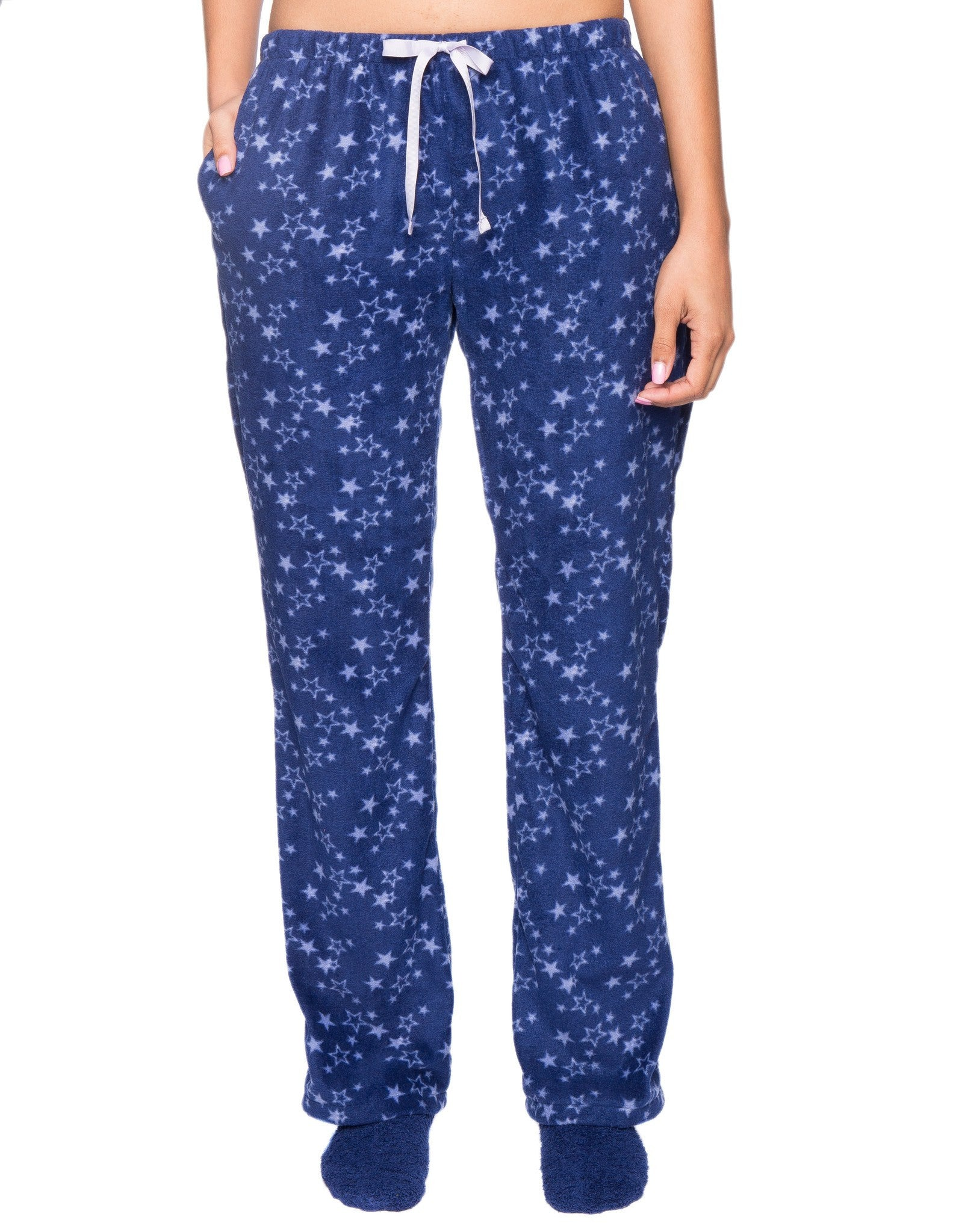 Womens Microfleece Lounge/Sleep Pants