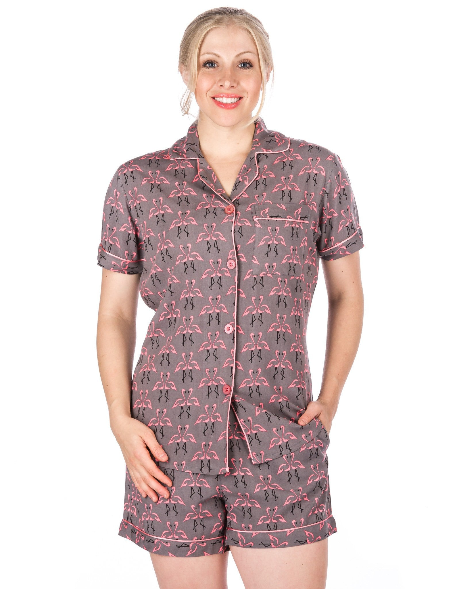 Women's Cool Breeze Woven Short Pajama Set