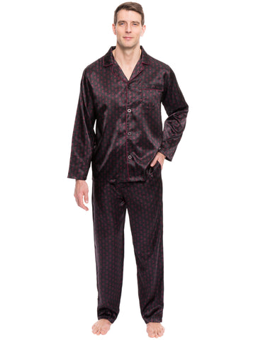 Mens Satin Sleepwear/Pajama Set