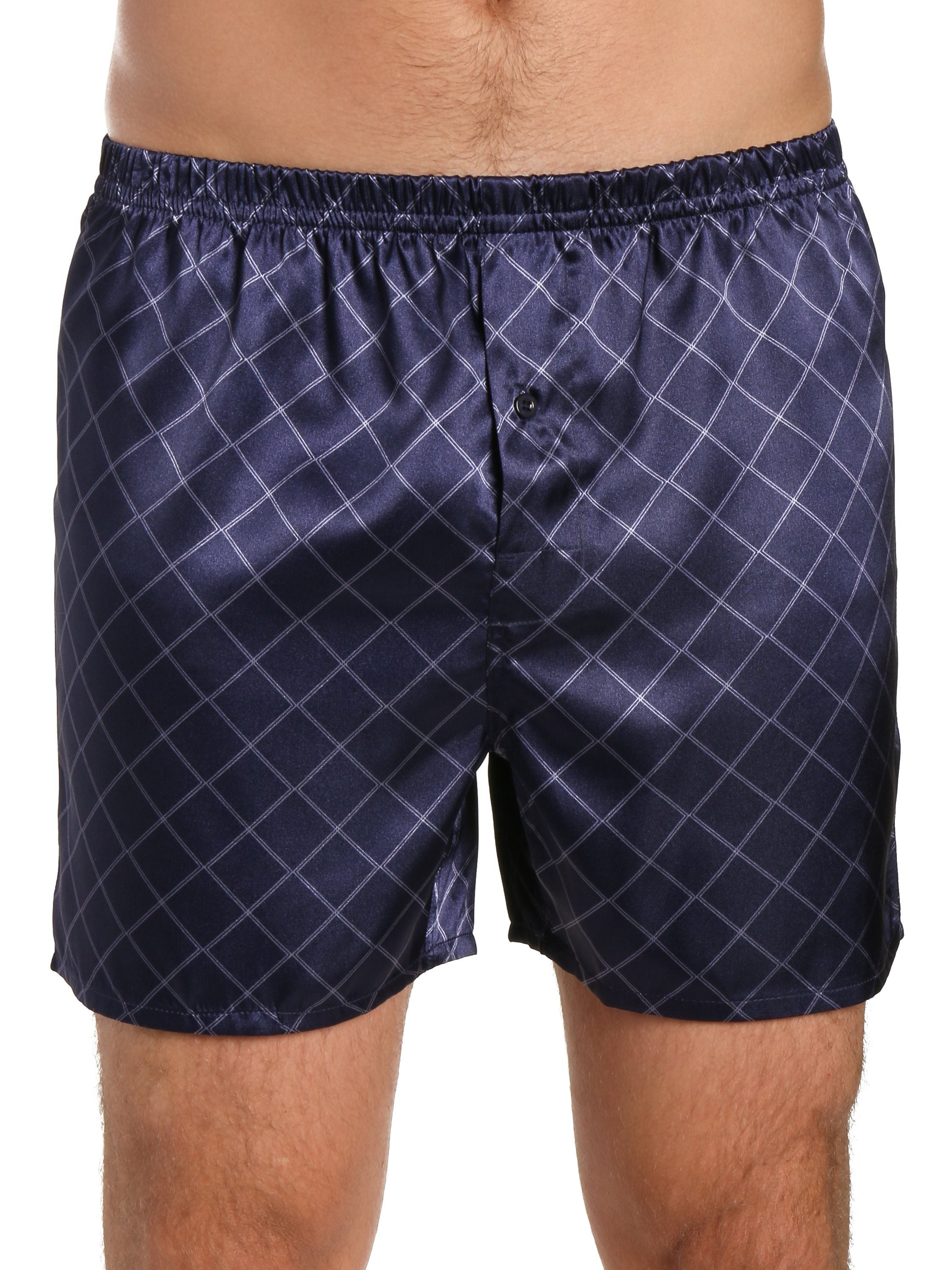 Diamond Windowpane Navy/Charcoal