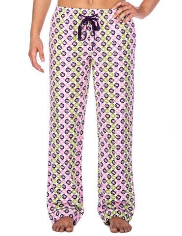 Womens Premium 100% Cotton Flannel Lounge Pants - Relaxed Fit