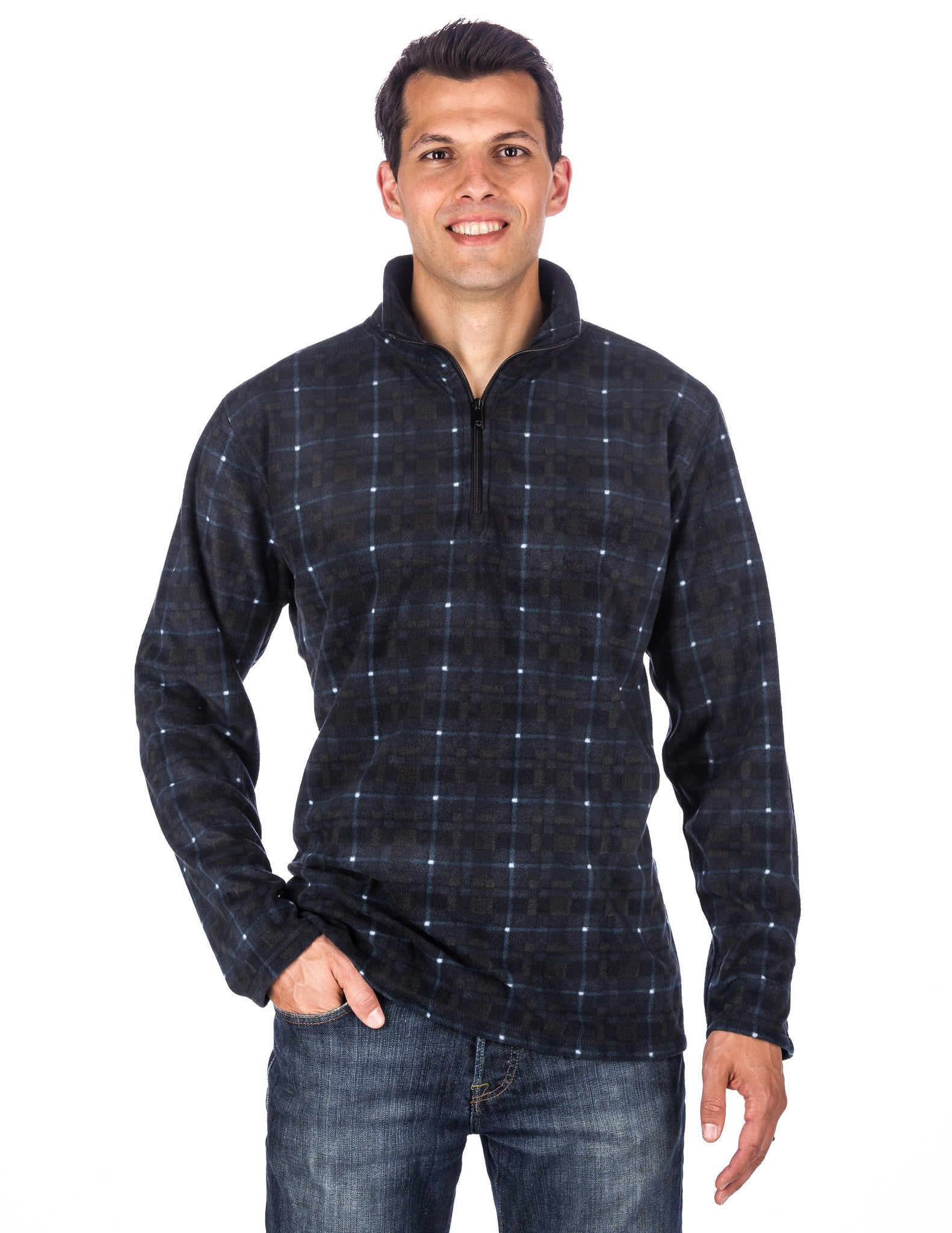 Men's Microfleece Half-Zip Pullover