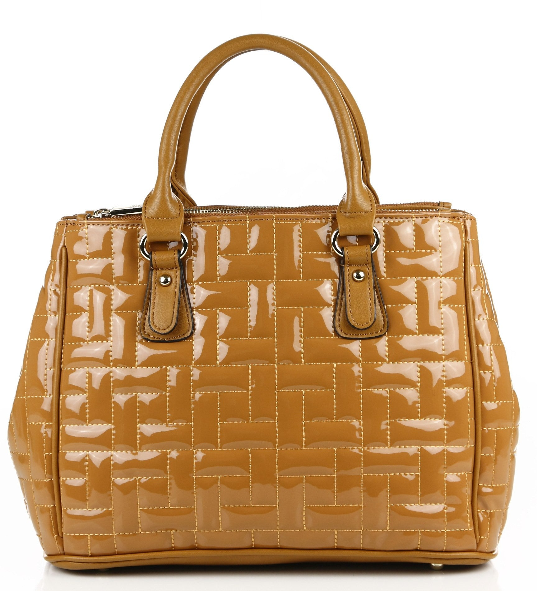 Quilted Monique Satchel/Handbag