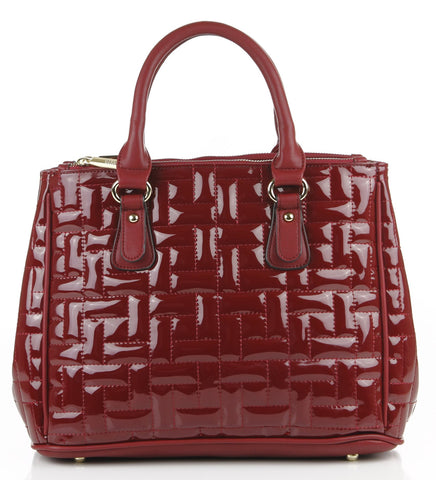 Quilted Monique Satchel Bag