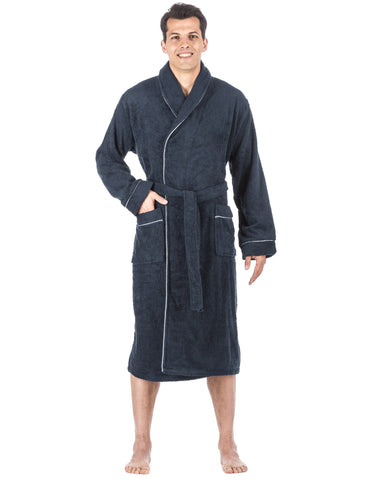 Men's 100% Cotton Terry Bathrobe