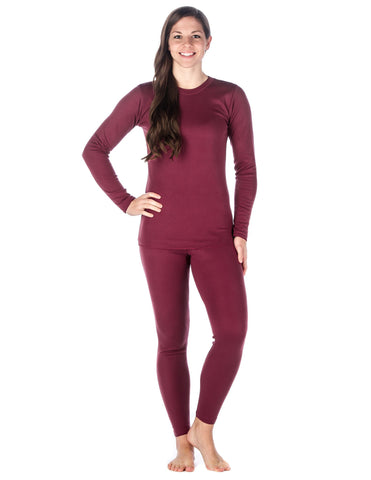 Women's 'Soft Comfort' Premium Thermal Set