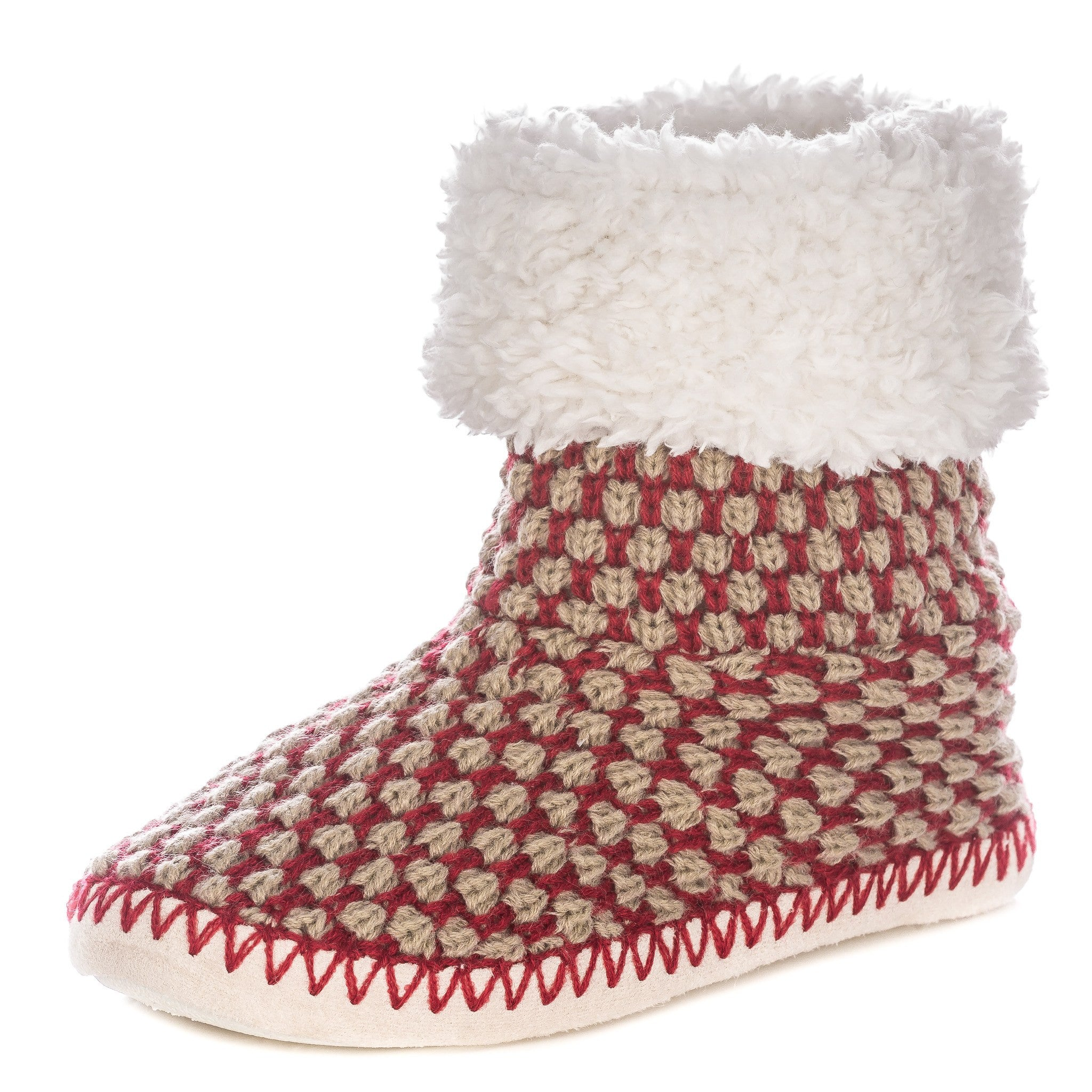 Women's Oxford Indoor Boot Slippers