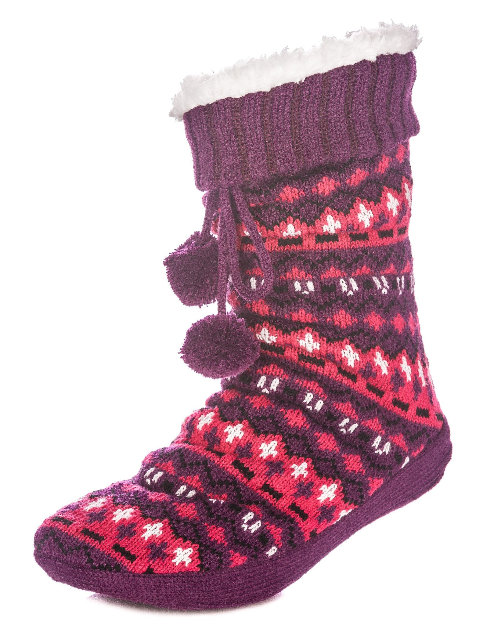 Women's Arctic Tall Slipper Socks