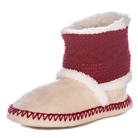 Women's Eskimo Indoor Short Boot Slippers