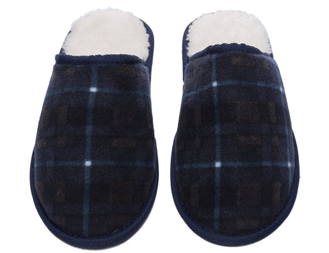 Noble Mount Men's Premium Microfleece Clog Slipper