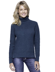 Box-Packaged Tocco Reale Women's Cashmere Blend Turtle Neck Sweater