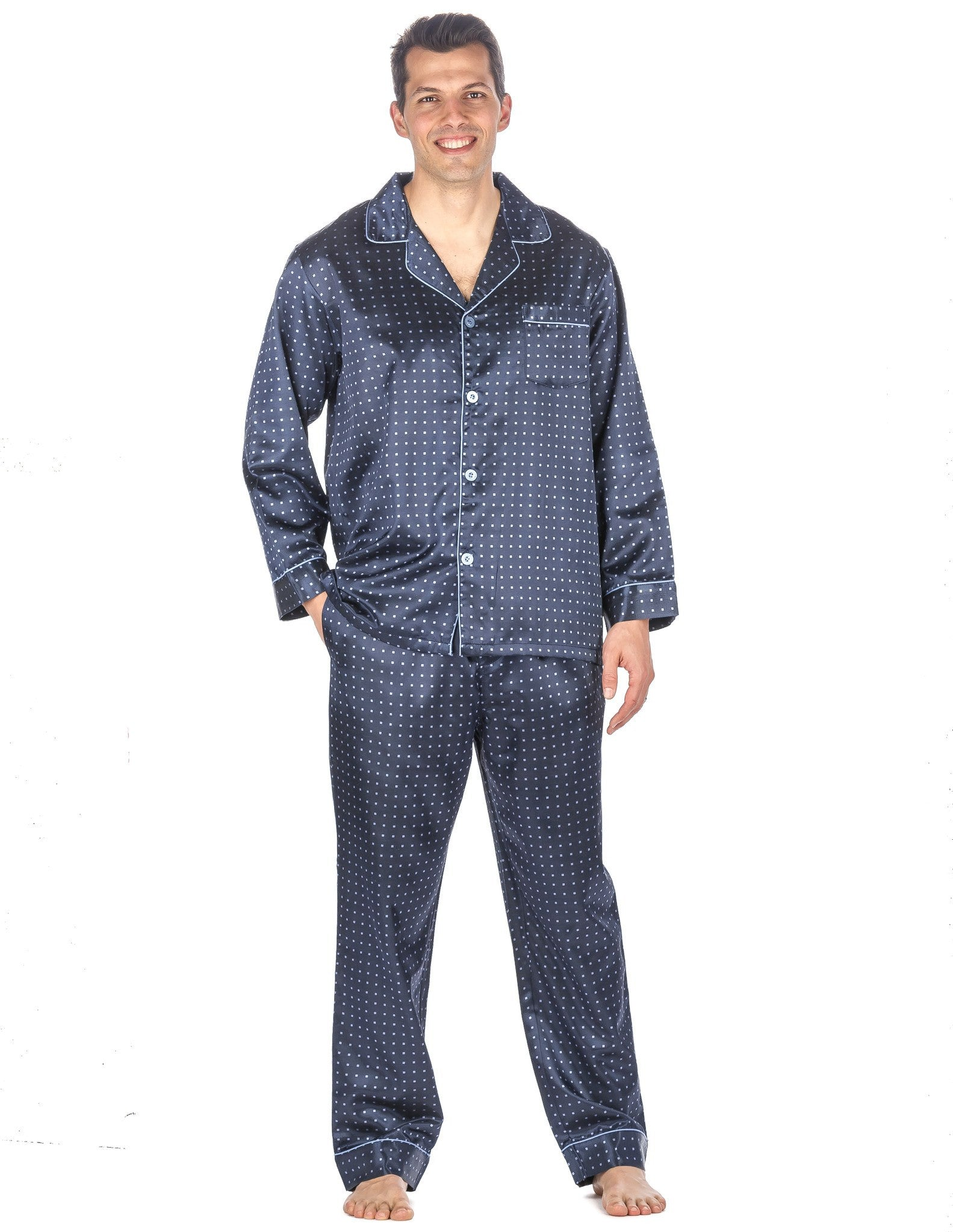Mens Pajama Sets Golden slumbers are well within reach with help from men's pajama sets. These appealing sleepwear ideas emphasize comfort and style all at once.