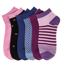 Women's Soft Premium Low Cut Socks - 6 Pairs