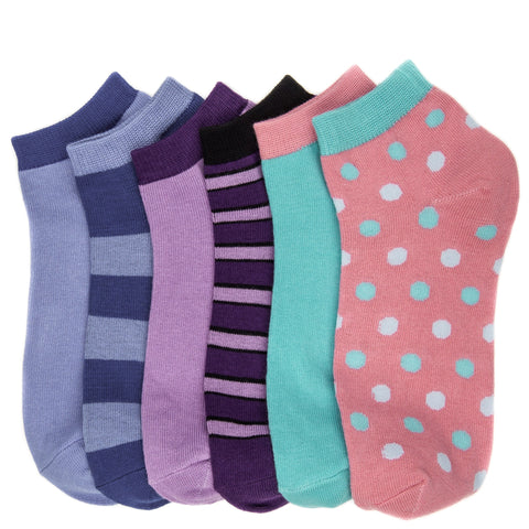 Women's Combed Cotton Premium Low Cut Socks