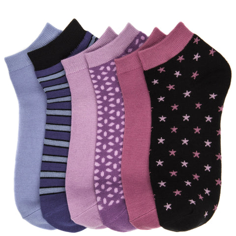 6-Pack Women's Premium Lowcut Socks