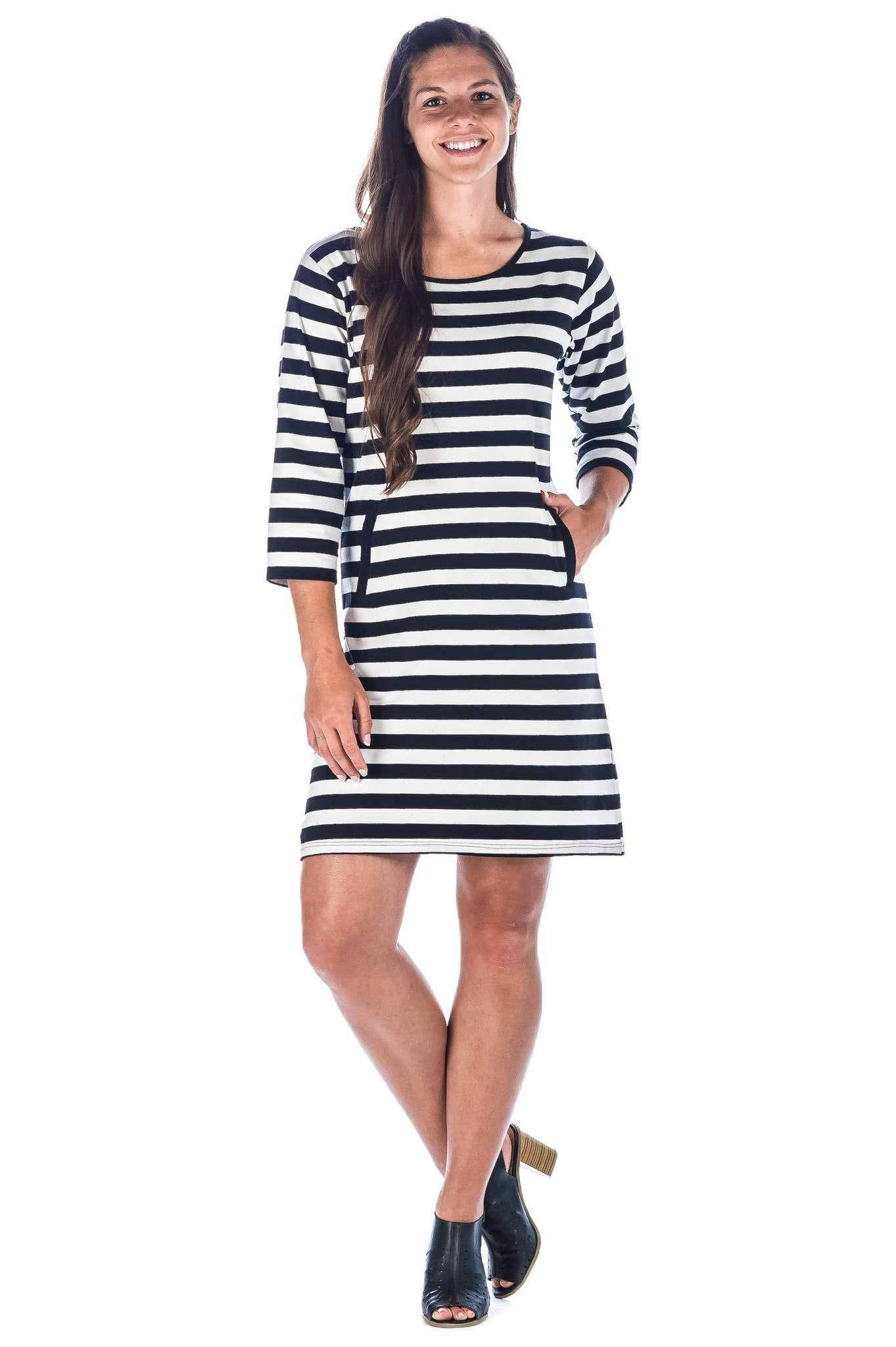 Women's Premium Cotton Knit Dress