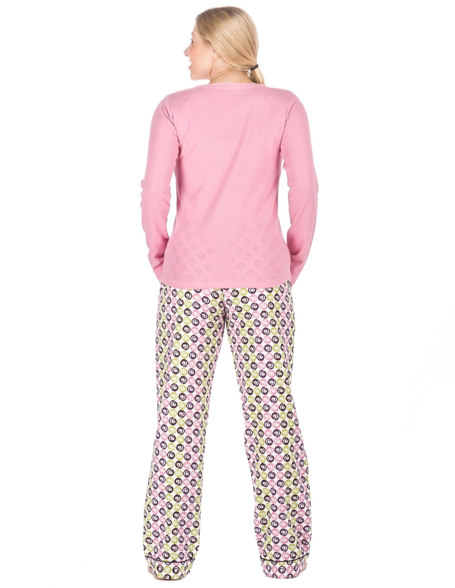 Noble Mount. Womens Premium 100% Cotton Flannel Loungewear Set - Relaxed Fit 86a55ac93