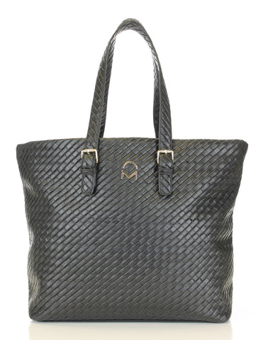 Weave Texture Enchanted Tote Handbag