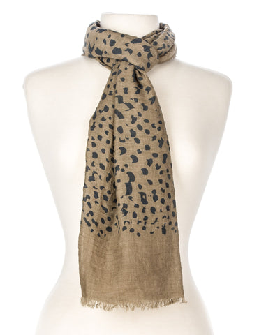 Leopard Print Spring Scarf