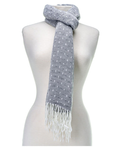 'Toasty' Warm Soft Premium Winter Scarf - Dot Pattern