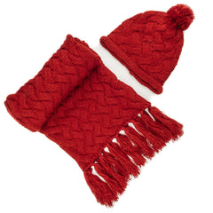 Women's Metro Winter Scarf and Hat Set