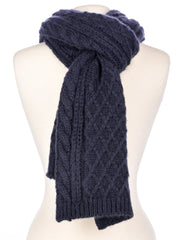 Men's Super-Soft Cable Knit Avalanche Winter Scarf